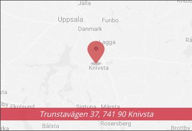 Karta 3P Bil AB - Bilhandlare och bilverkstad i Knivsta